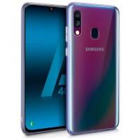 Funda Silicona Samsung A405 Galaxy A40 (Transparente)