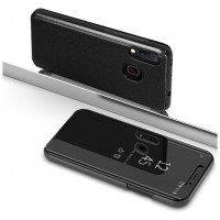 Funda Flip Cover Samsung A202 Galaxy A20e Clear View Negro