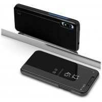 Funda Flip Cover Samsung A105 Galaxy A10 Clear View Negro
