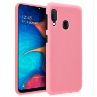 Funda Silicona Samsung A202 Galaxy A20e (Rosa)