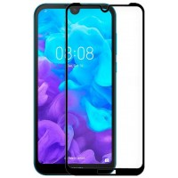 Protector Pantalla Cristal Templado Huawei Y5 (2019) FULL 3D Negro